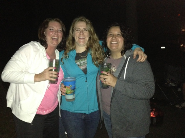 Lifelong friends: Tonya, Me and Lisa.