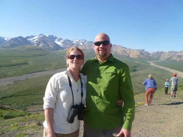 Polychrome overlook, Denali National Park.