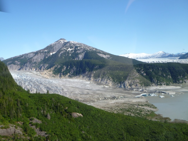 Tail end of the Norris Glacier.
