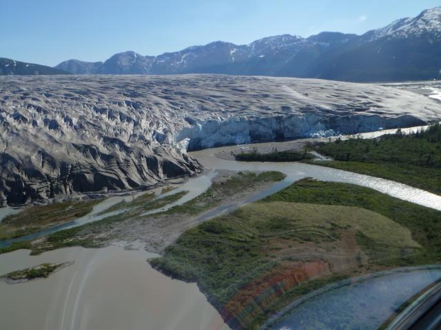 Taku Glacier.